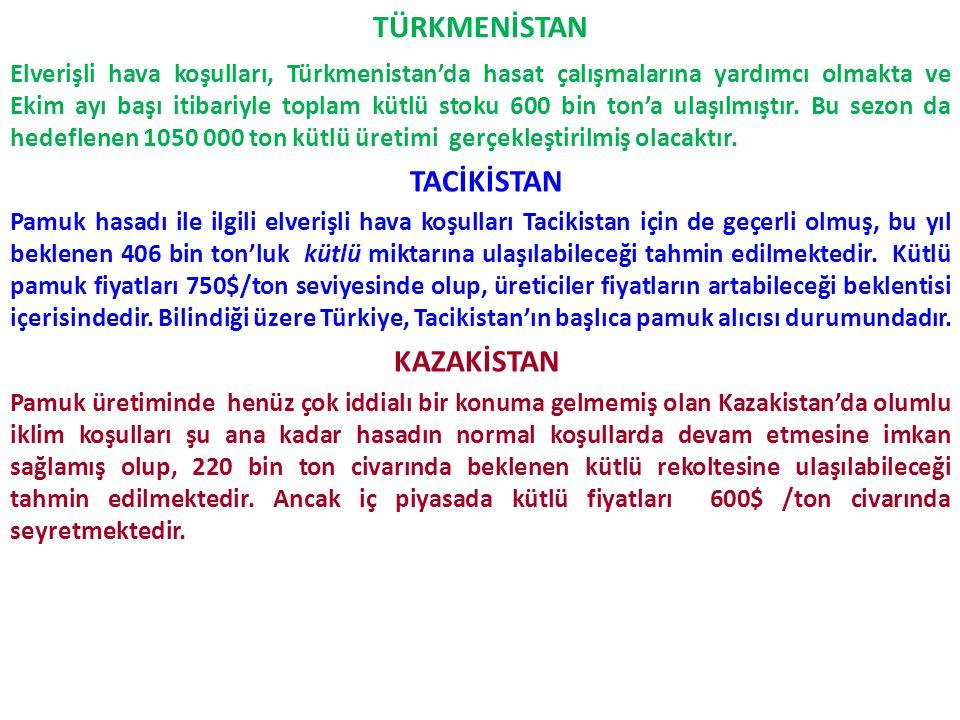 TÜRKMENİSTAN
