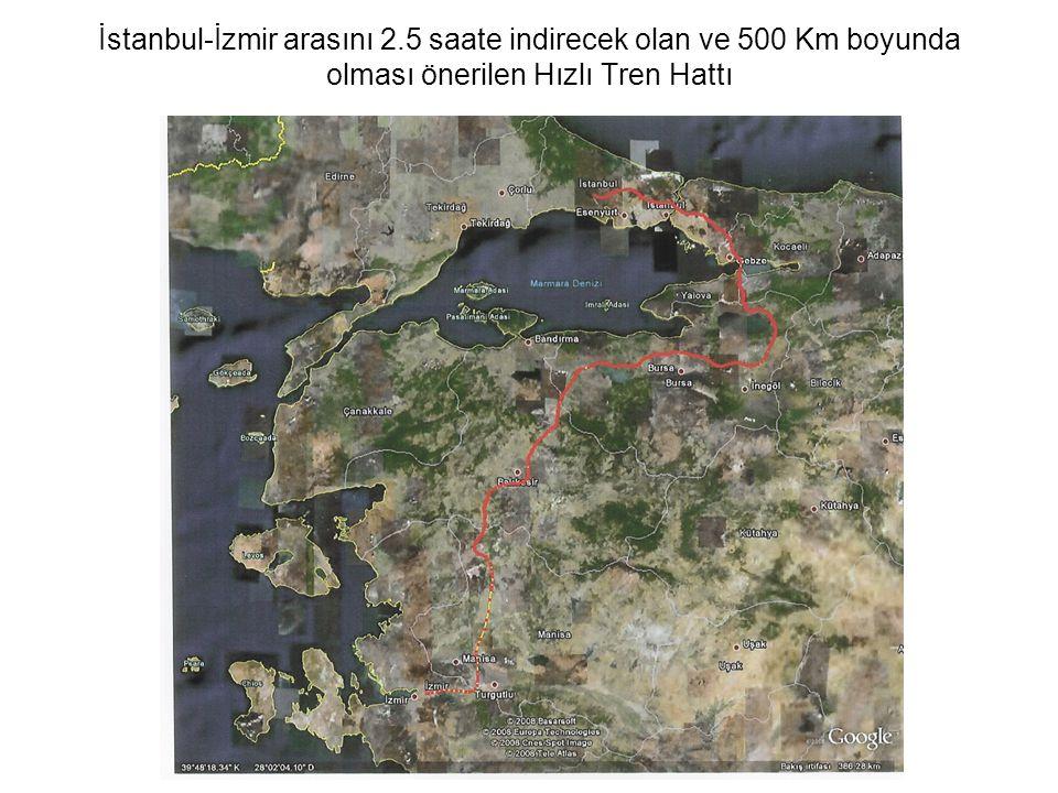İstanbul-İzmir arasını 2