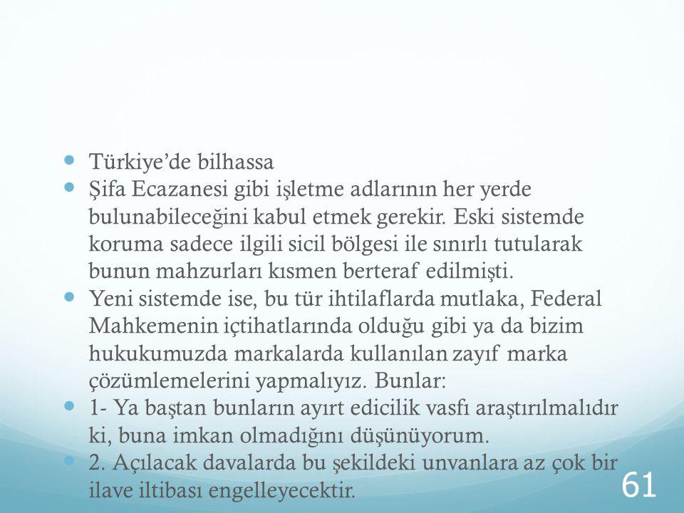 Türkiye'de bilhassa