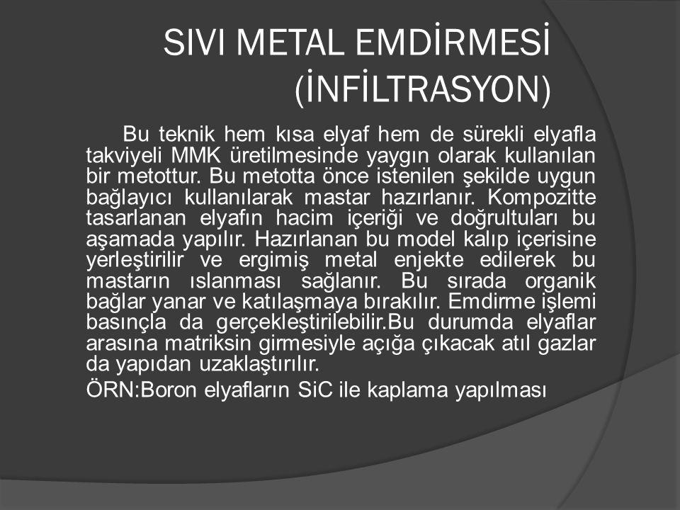SIVI METAL EMDİRMESİ (İNFİLTRASYON)
