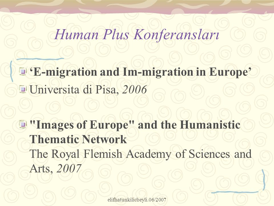 Human Plus Konferansları