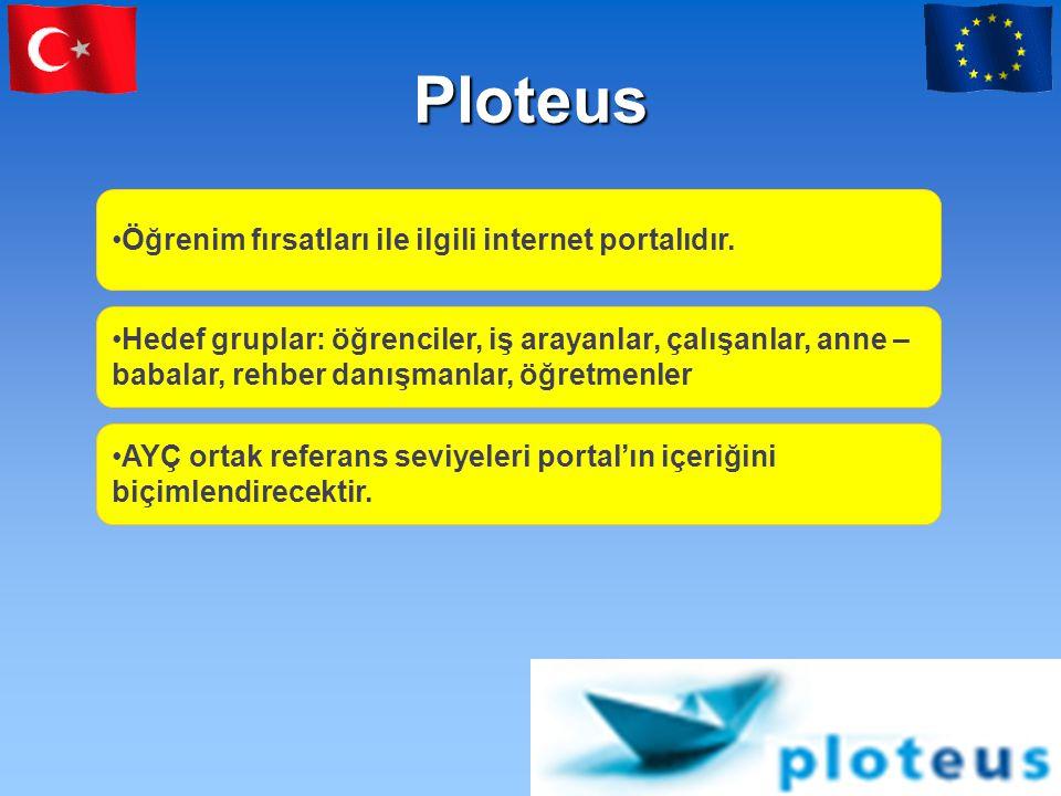 Ploteus Öğrenim fırsatları ile ilgili internet portalıdır.