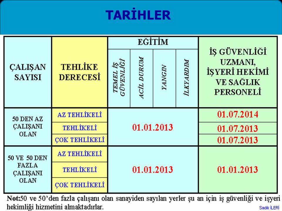 TARİHLER
