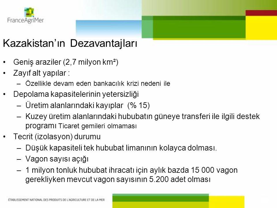 Kazakistan'ın Dezavantajları