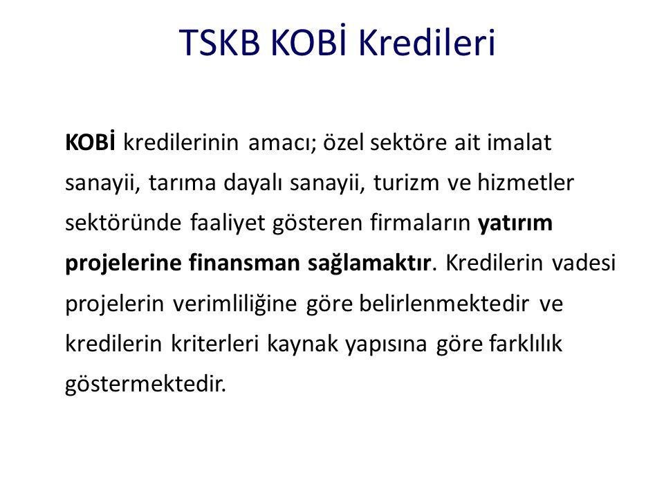 TSKB KOBİ Kredileri