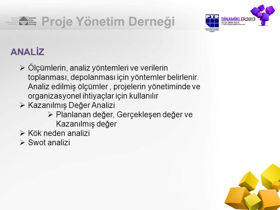 Proje Yönetim Derneği ANALİZ