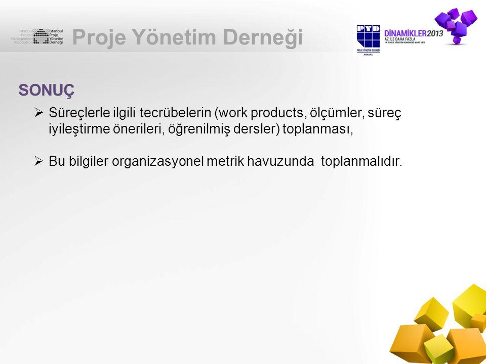 Proje Yönetim Derneği SONUÇ