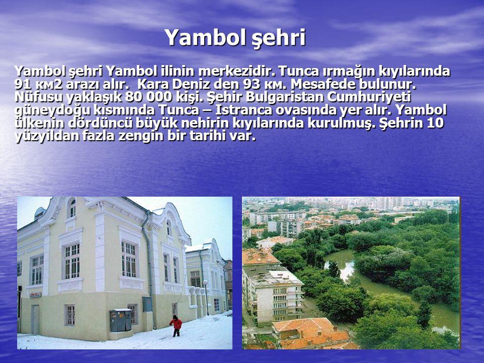 Yambol şehri