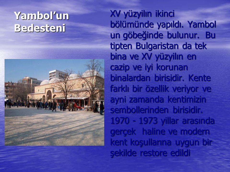Yambol'un Bedesteni
