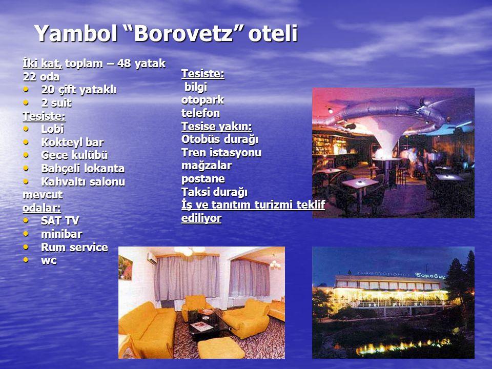 Yambol Borovetz oteli