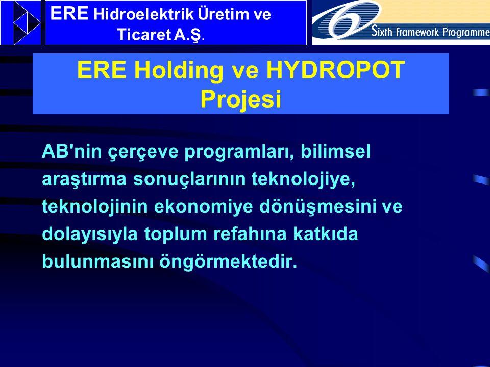 ERE Holding ve HYDROPOT Projesi