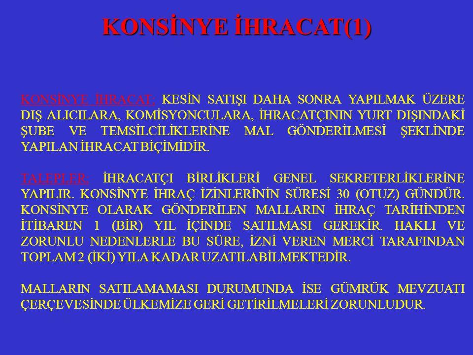 KONSİNYE İHRACAT(1)