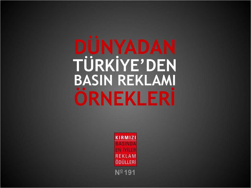 DÜNYADAN TÜRKİYE'DEN BASIN REKLAMI ÖRNEKLERİ No 191