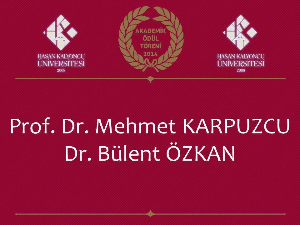 Prof. Dr. Mehmet KARPUZCU
