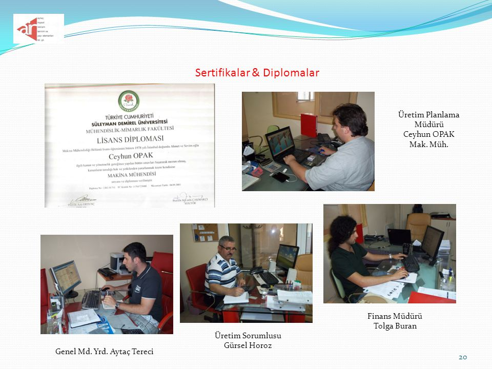 Sertifikalar & Diplomalar