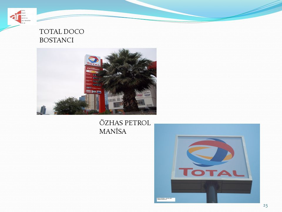 TOTAL DOCO BOSTANCI ÖZHAS PETROL MANİSA
