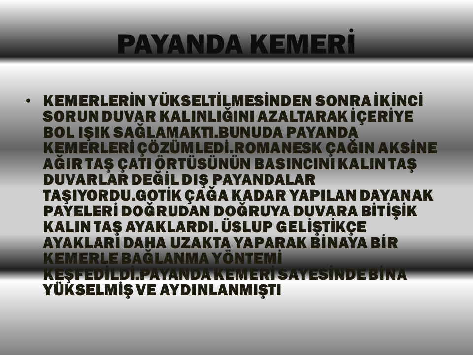 PAYANDA KEMERİ