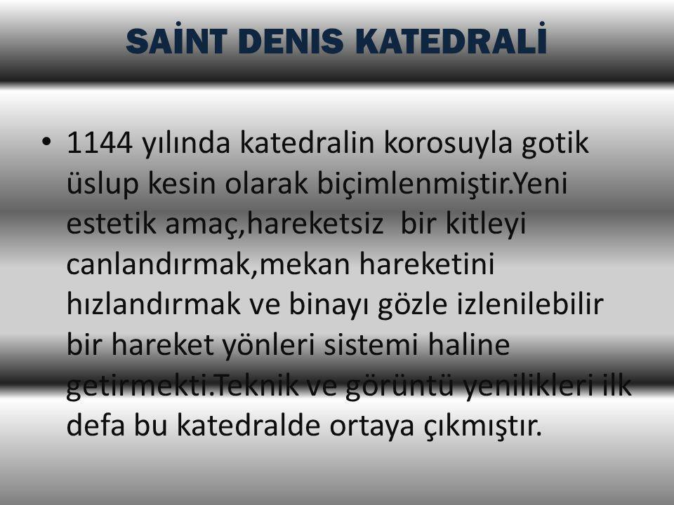 SAİNT DENIS KATEDRALİ