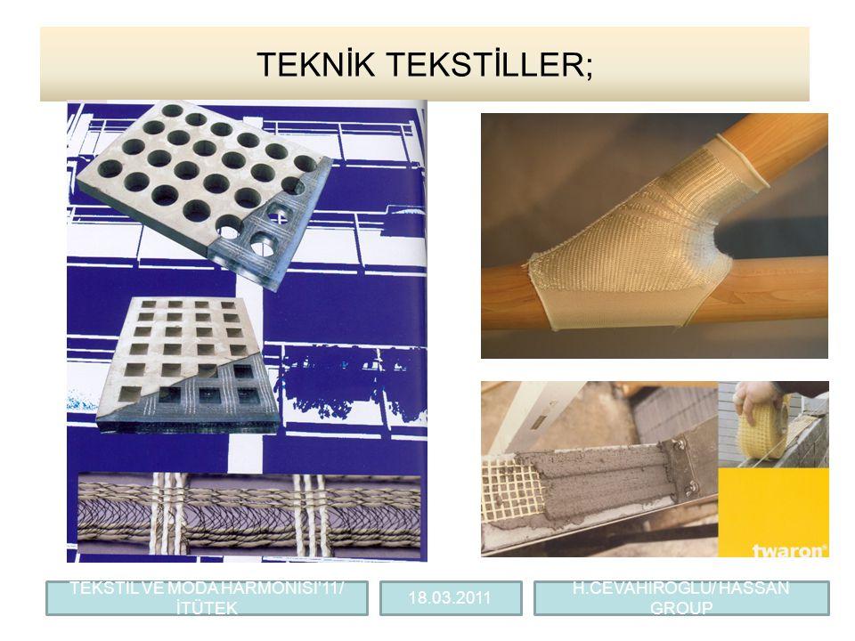 TEKNİK TEKSTİLLER; TEKSTİL VE MODA HARMONİSİ'11/ İTÜTEK 18.03.2011