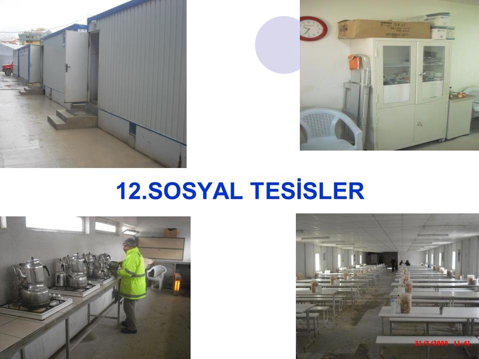 12.SOSYAL TESİSLER