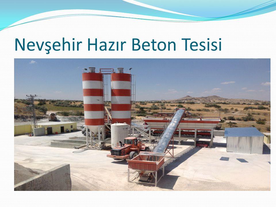 Nevşehir Hazır Beton Tesisi