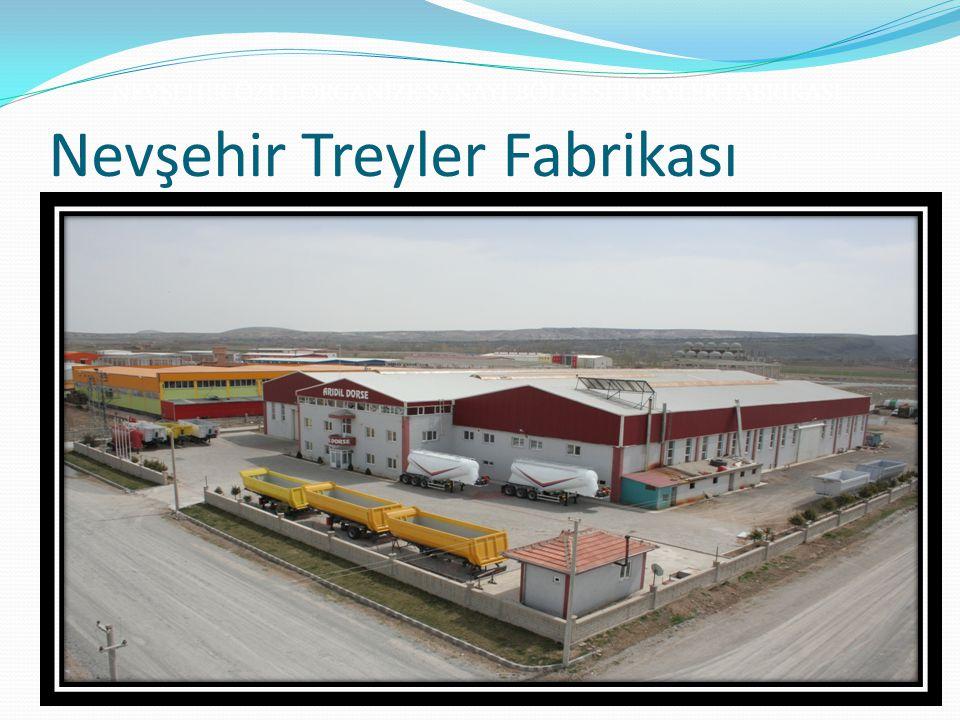 Nevşehir Treyler Fabrikası