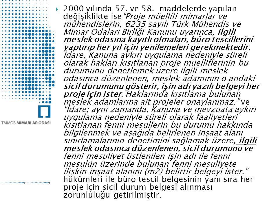 2000 yılında 57. ve 58.