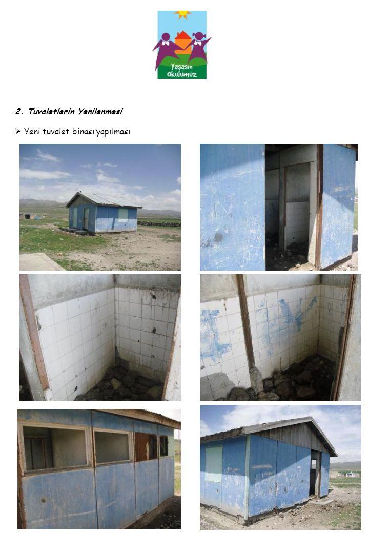 2. Tuvaletlerin Yenilenmesi