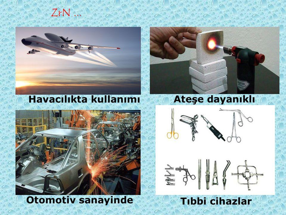 Havacılıkta kullanımı