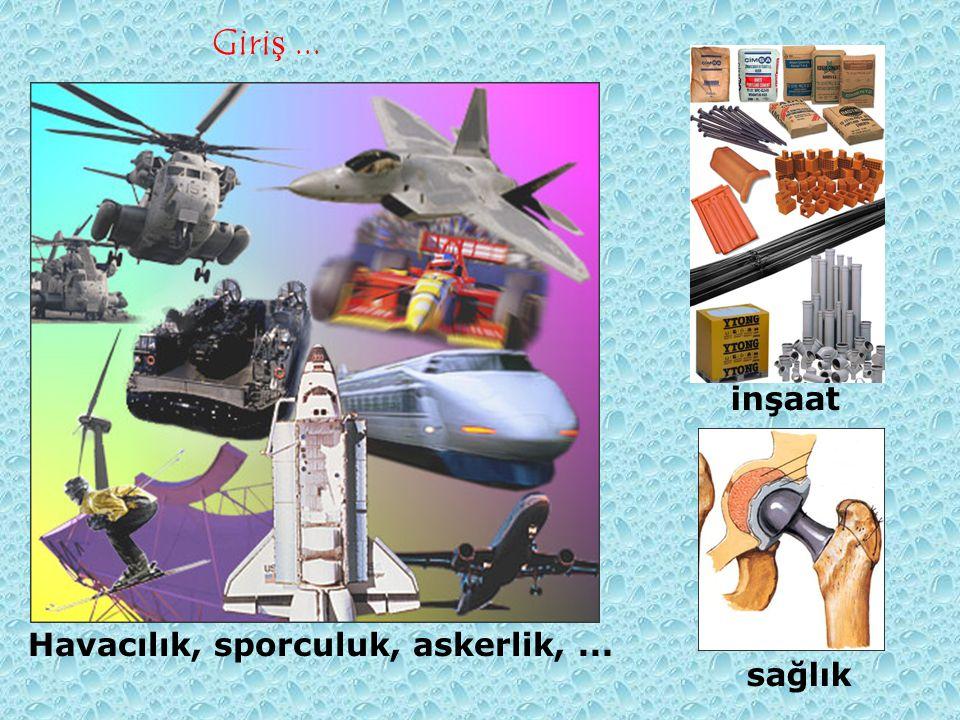 Havacılık, sporculuk, askerlik, ...