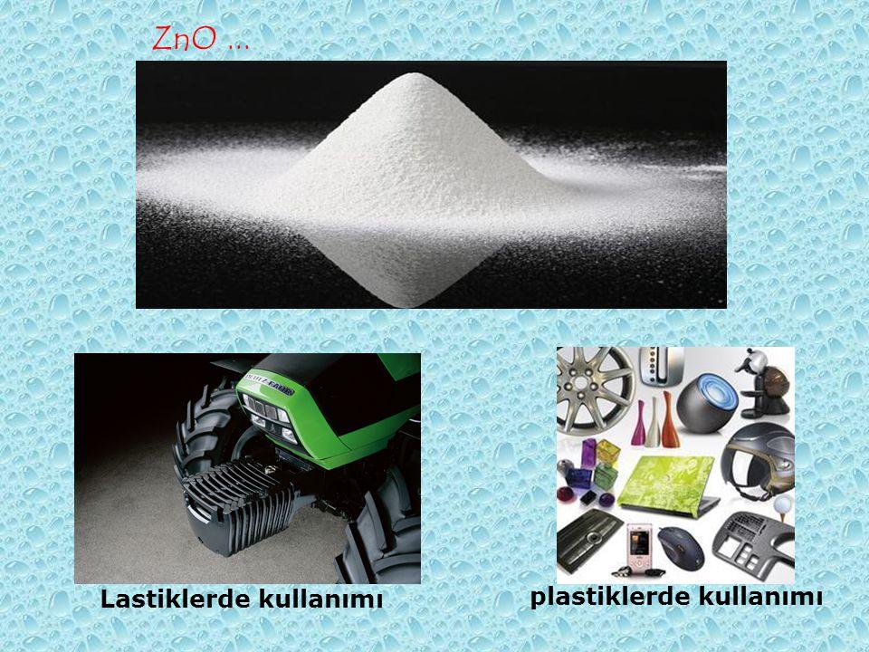 Lastiklerde kullanımı plastiklerde kullanımı