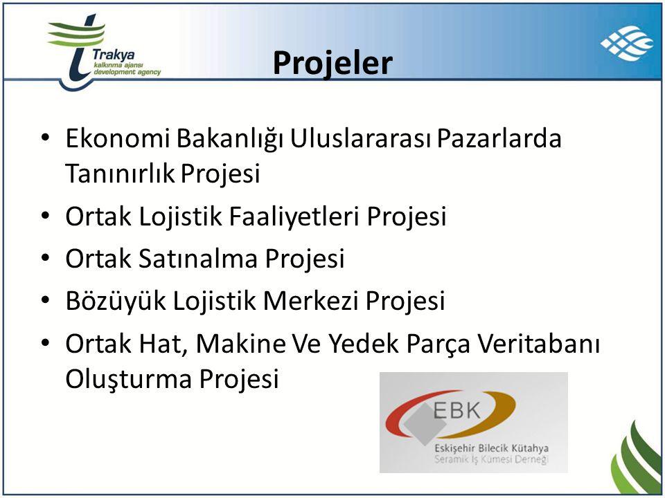 Projeler Ekonomi Bakanlığı Uluslararası Pazarlarda Tanınırlık Projesi