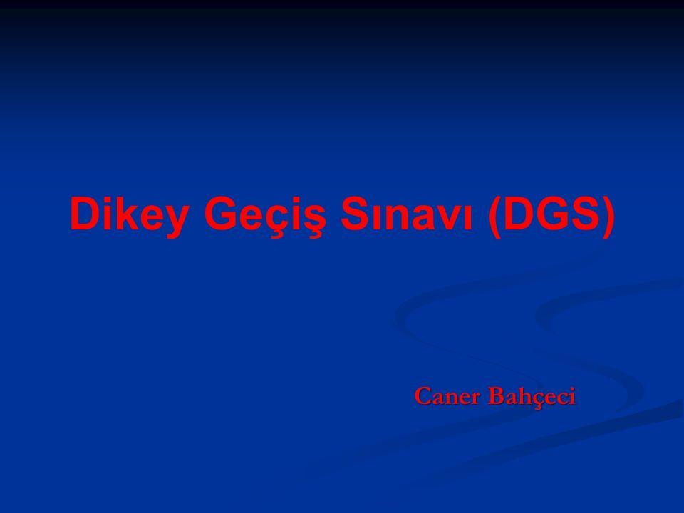 Dikey Geçiş Sınavı (DGS)