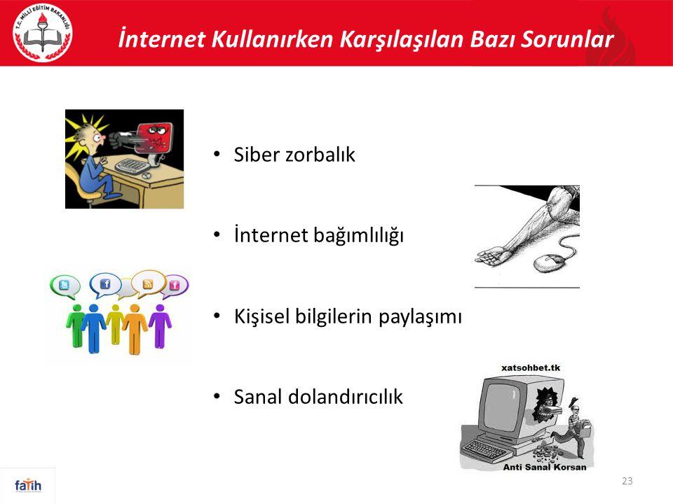İnternet Kullanırken Karşılaşılan Bazı Sorunlar