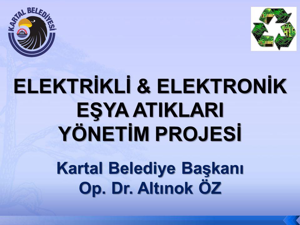 ELEKTRİKLİ & ELEKTRONİK Kartal Belediye Başkanı