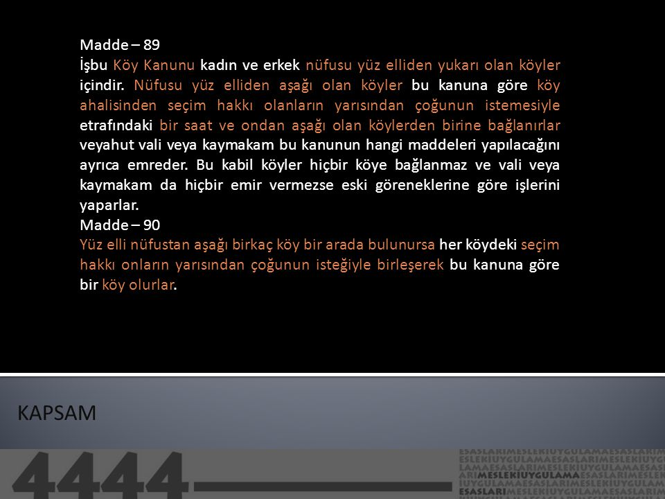 Madde – 89
