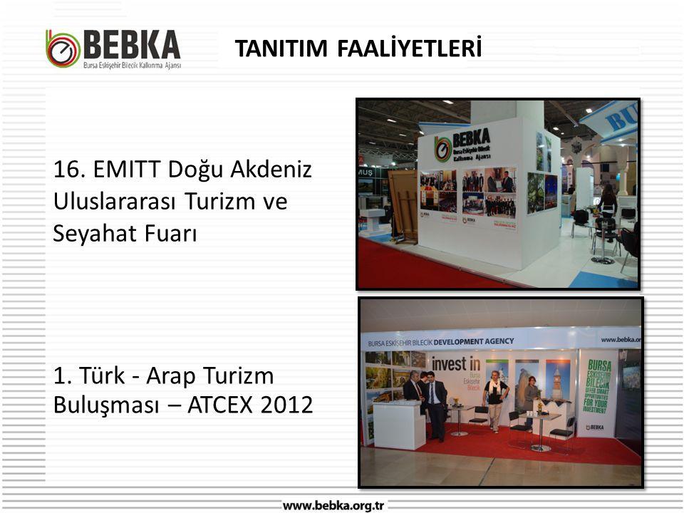 TANITIM FAALİYETLERİ 16. EMITT Doğu Akdeniz Uluslararası Turizm ve Seyahat Fuarı.