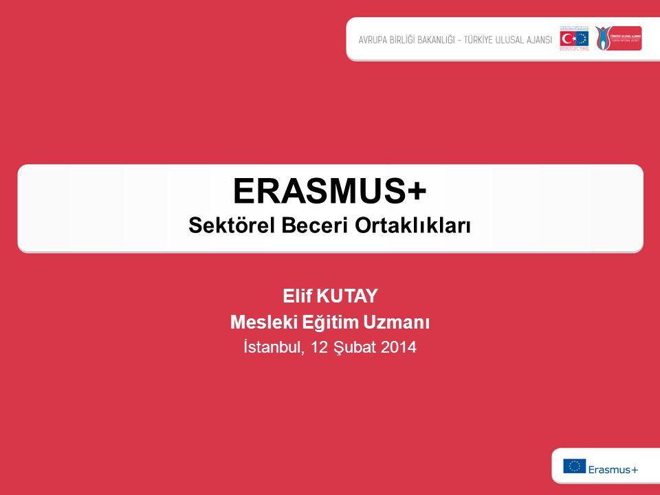 ERASMUS+ Sektörel Beceri Ortaklıkları