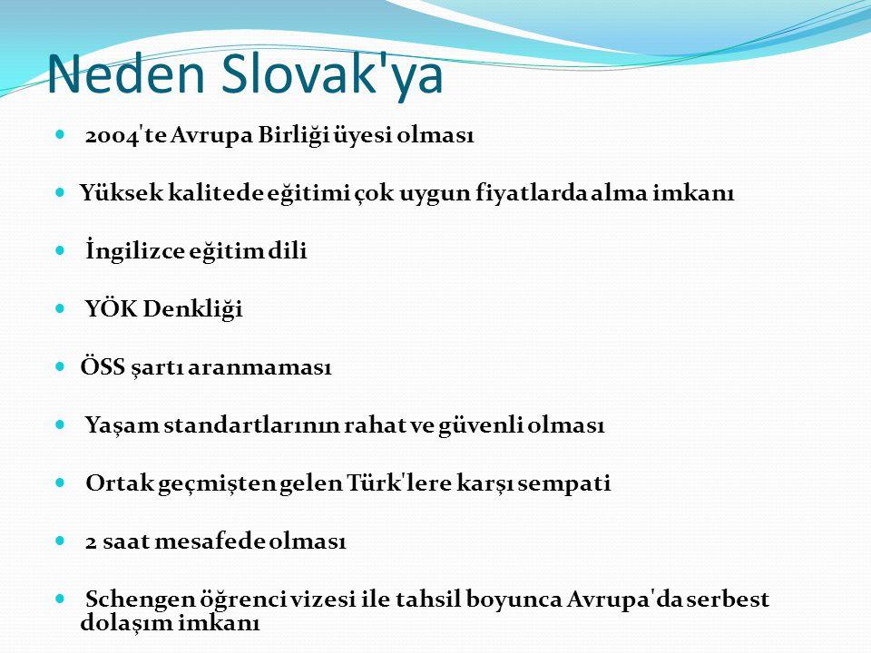 Neden Slovak ya 2004 te Avrupa Birliği üyesi olması