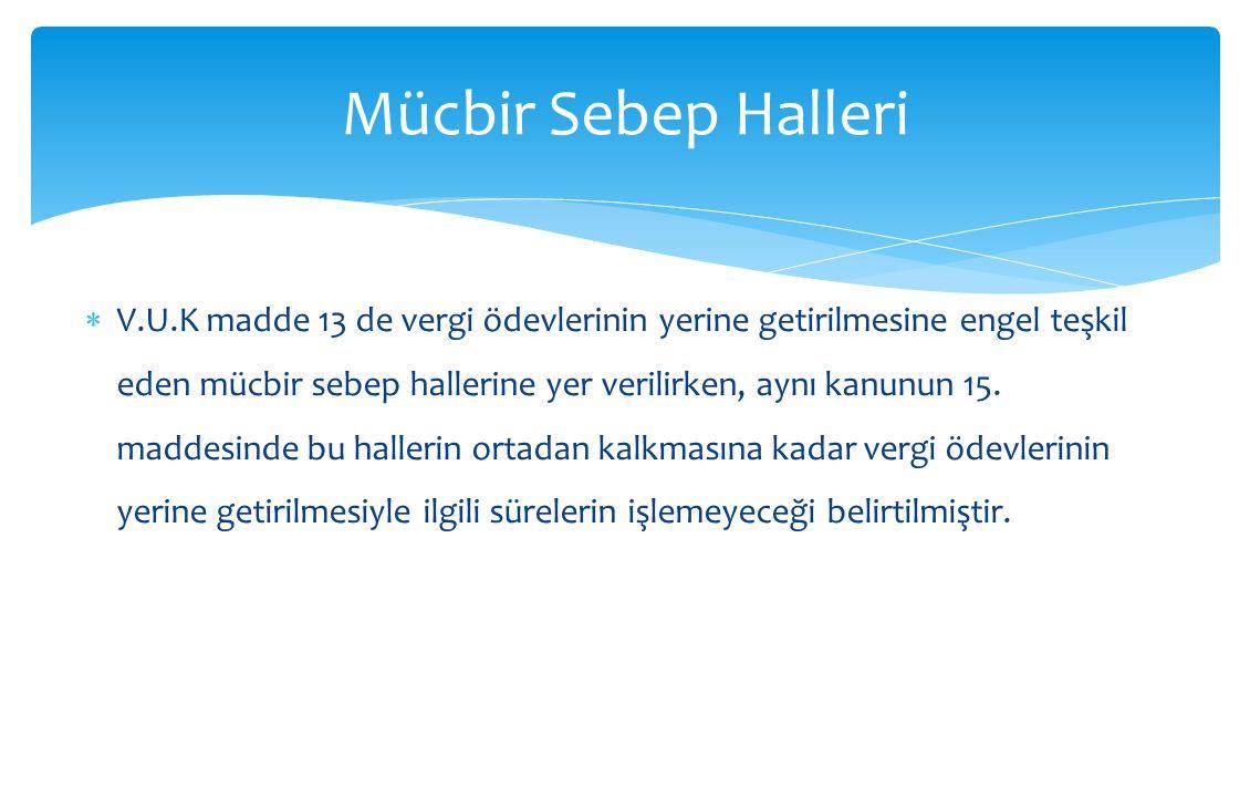 Mücbir Sebep Halleri
