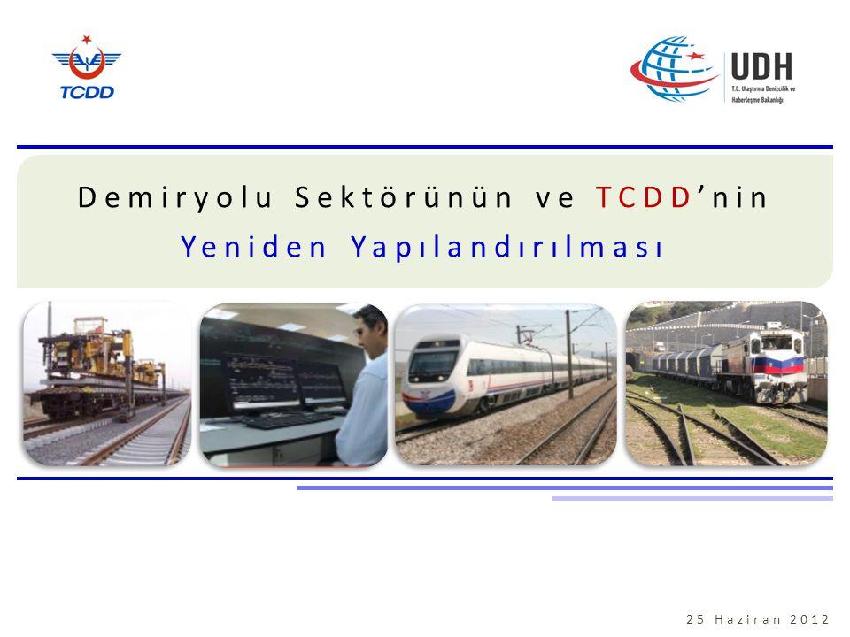 Demiryolu Sektörünün ve TCDD'nin Yeniden Yapılandırılması