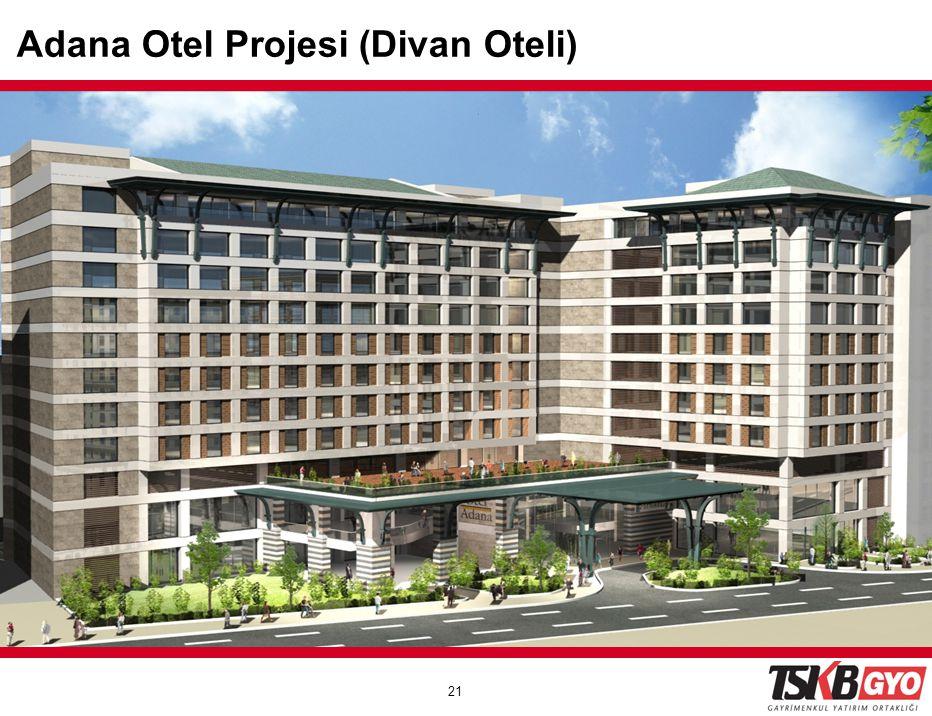Adana Otel Projesi (Divan Oteli)