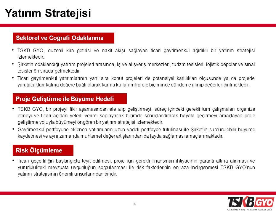 Yatırım Stratejisi Sektörel ve Coğrafi Odaklanma