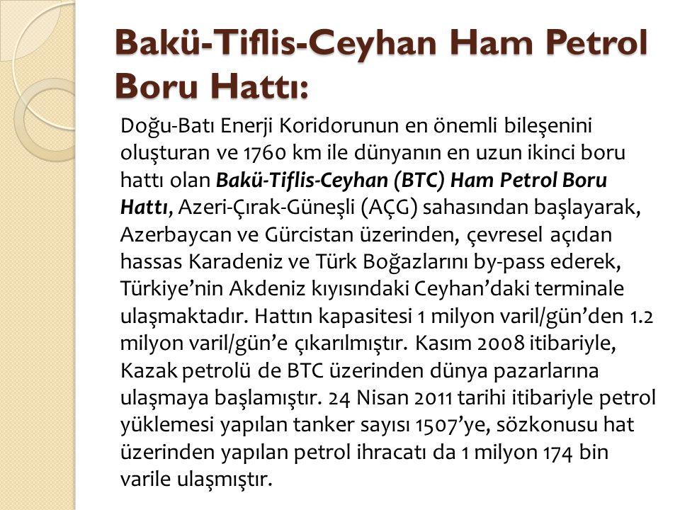 Bakü-Tiflis-Ceyhan Ham Petrol Boru Hattı: