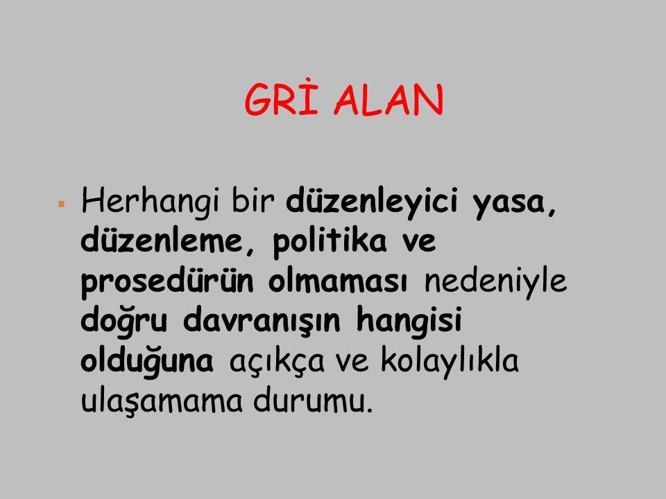 GRİ ALAN