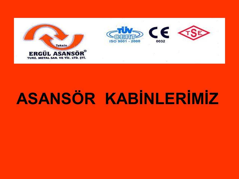 ASANSÖR KABİNLERİMİZ