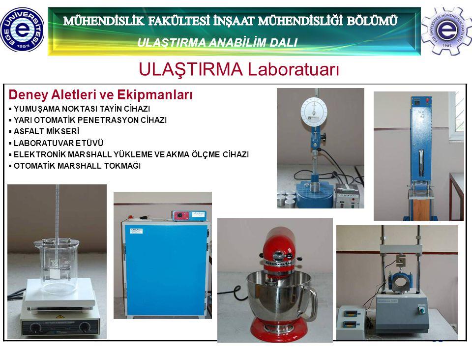 ULAŞTIRMA Laboratuarı