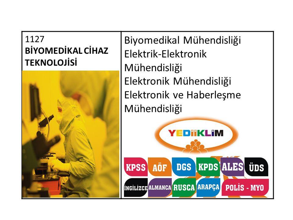 Biyomedikal Mühendisliği Elektrik-Elektronik Mühendisliği