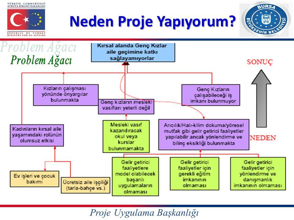 Neden Proje Yapıyorum Problem Ağacı Proje Uygulama Başkanlığı