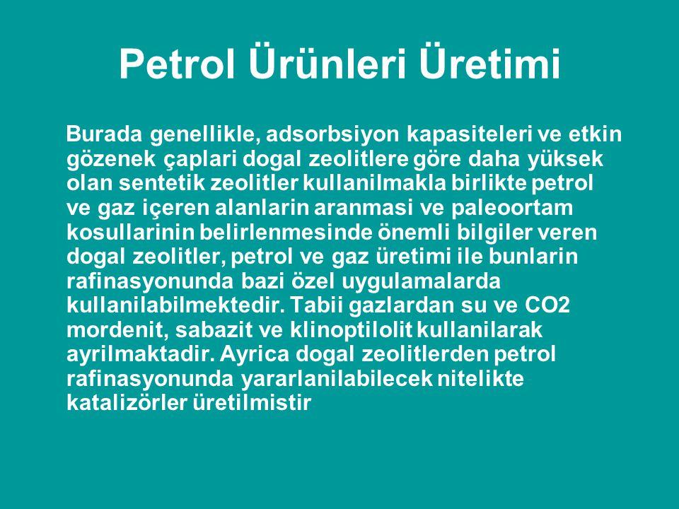 Petrol Ürünleri Üretimi